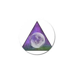 Form Triangle Moon Space Golf Ball Marker (10 Pack) by HermanTelo