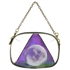 Form Triangle Moon Space Chain Purse (two Sides) by HermanTelo