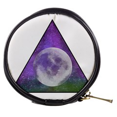 Form Triangle Moon Space Mini Makeup Bag by HermanTelo