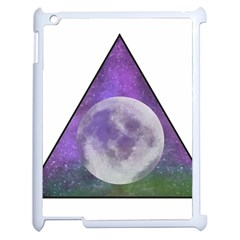 Form Triangle Moon Space Apple Ipad 2 Case (white)