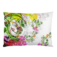 Flowers Floral Pillow Case (two Sides)