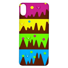 Illustration Abstract Graphic Rainbow Iphone X/xs Soft Bumper Uv Case