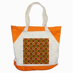 Geometry Shape Retro Accent Tote Bag