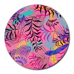 Illustration Reason Leaves Round Mousepads