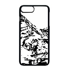 Mountain Ink Iphone 8 Plus Seamless Case (black)