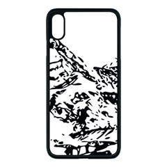 Mountain Ink Iphone Xs Max Seamless Case (black)