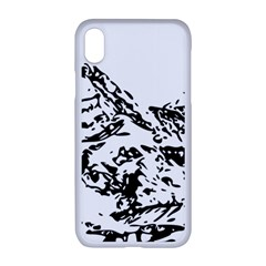 Mountain Ink Iphone Xr Seamless Case (white)