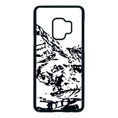 Mountain Ink Samsung Galaxy S9 Seamless Case(black)