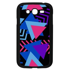 Memphis Pattern Geometric Abstract Samsung Galaxy Grand Duos I9082 Case (black) by HermanTelo
