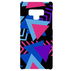 Memphis Pattern Geometric Abstract Samsung Note 9 Black Uv Print Case  by HermanTelo
