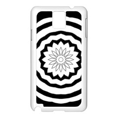 Mandala Samsung Galaxy Note 3 N9005 Case (white) by HermanTelo