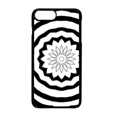 Mandala Iphone 8 Plus Seamless Case (black)