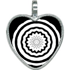 Mandala Heart Necklace by HermanTelo