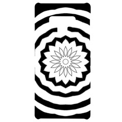 Mandala Samsung Note 9 Black Uv Print Case  by HermanTelo