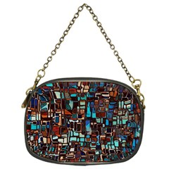 Mosaic Abstract Chain Purse (one Side) by HermanTelo