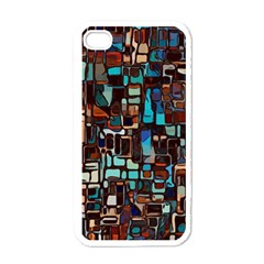 Mosaic Abstract Iphone 4 Case (white)
