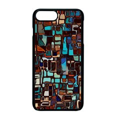 Mosaic Abstract Iphone 7 Plus Seamless Case (black)