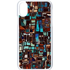 Mosaic Abstract Iphone X Seamless Case (white)