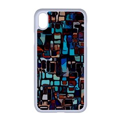 Mosaic Abstract Iphone Xr Seamless Case (white)