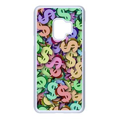 Money Currency Rainbow Samsung Galaxy S9 Seamless Case(white)