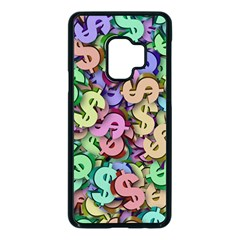 Money Currency Rainbow Samsung Galaxy S9 Seamless Case(black) by HermanTelo