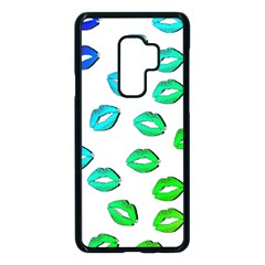 Kiss Mouth Lips Colors Samsung Galaxy S9 Plus Seamless Case(black) by HermanTelo