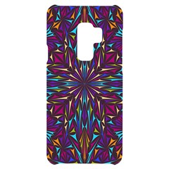 Kaleidoscope Triangle Curved Samsung S9 Plus Black Uv Print Case by HermanTelo