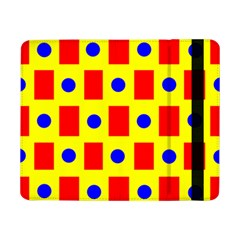 Pattern Circle Plaid Samsung Galaxy Tab Pro 8 4  Flip Case by HermanTelo