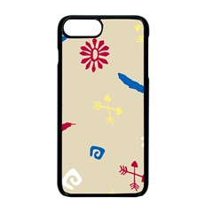 Pattern Culture Tribe American Iphone 8 Plus Seamless Case (black)