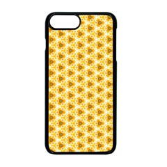 Pattern Halloween Pumpkin Color Iphone 8 Plus Seamless Case (black)