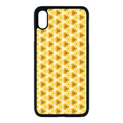 Pattern Halloween Pumpkin Color Iphone Xs Max Seamless Case (black)