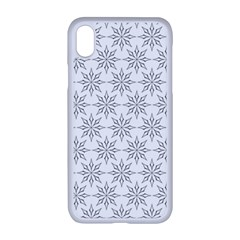 Ornamental Star Mandala Iphone Xr Seamless Case (white)