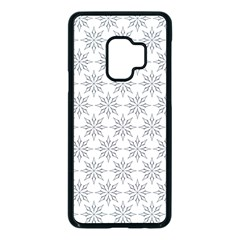 Ornamental Star Mandala Samsung Galaxy S9 Seamless Case(black)
