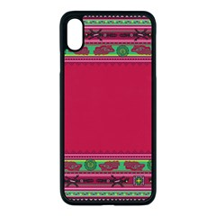 Ornaments Mexico Cheerful Iphone Xs Max Seamless Case (black)