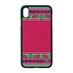 Ornaments Mexico Cheerful Iphone Xr Seamless Case (black)