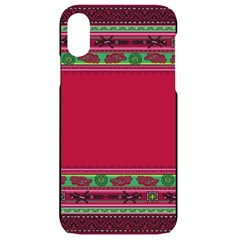 Ornaments Mexico Cheerful Iphone Xr Black Uv Print Case