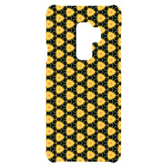 Pattern Halloween Pumpkin Color Yellow Samsung S9 Plus Black Uv Print Case