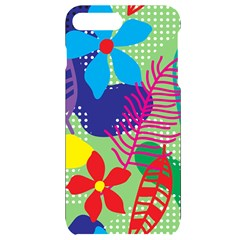 Pattern Leaf Polka Floral Iphone 7/8 Plus Black Uv Print Case