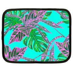 Painting Oil Leaves Nature Reason Netbook Case (xl) by HermanTelo