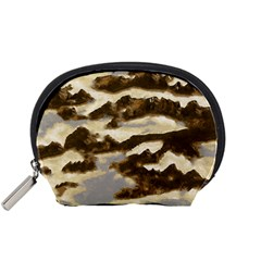 Mountains Ocean Clouds Accessory Pouch (small) by HermanTelo