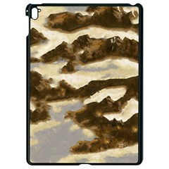 Mountains Ocean Clouds Apple Ipad Pro 9 7   Black Seamless Case