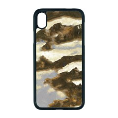 Mountains Ocean Clouds Iphone Xr Seamless Case (black)
