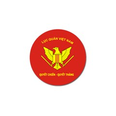 Flag Of Army Of Republic Of Vietnam Golf Ball Marker (10 Pack) by abbeyz71