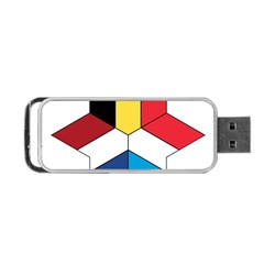 Benelux Star Portable Usb Flash (two Sides) by abbeyz71
