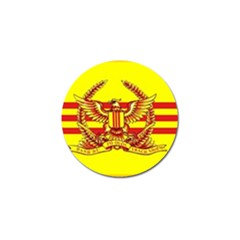 War Flag Of South Vietnam Golf Ball Marker (10 Pack) by abbeyz71