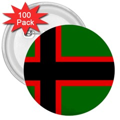 Karelia Nationalist Flag 3  Buttons (100 Pack)  by abbeyz71