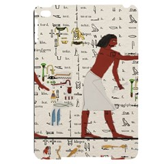 Egyptian Design Men Worker Slaves Apple Ipad Mini 4 Black Uv Print Case