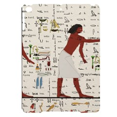 Egyptian Design Men Worker Slaves Apple Ipad Pro 9 7   Black Uv Print Case