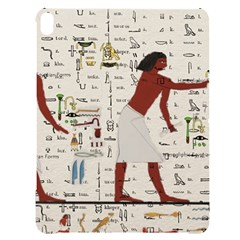 Egyptian Design Men Worker Slaves Apple Ipad Pro 12 9   Black Uv Print Case