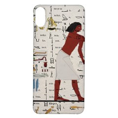Egyptian Design Men Worker Slaves Iphone X/xs Soft Bumper Uv Case